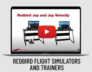 Redbird flight simulators and trainers