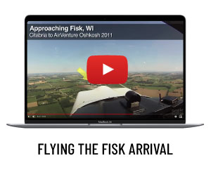 Flying the FISK arrival