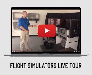 Flight simulators live tour